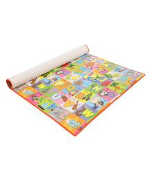 Unimats Play Mat Alphabet Print - Multi Colour