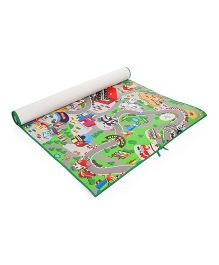 Unimats Play Mat Race Track Print - Multi Colour