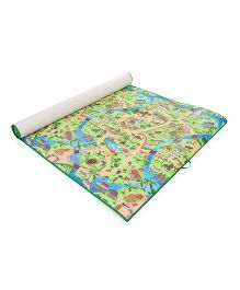 Unimats Play Mat Zoo Print - Multi Colour