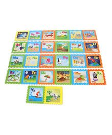 Unimats Alphabet Play Mat Multi Colour - 26 Pieces