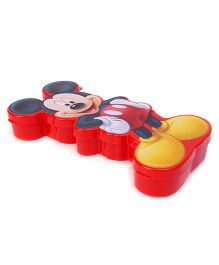 Disney Mickey Mouse Design Pencil Box - Red