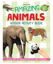 Amazing Animals Sticker Activity Book - English