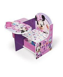 Disney Minnie Mouse Chair Desk - Pink White