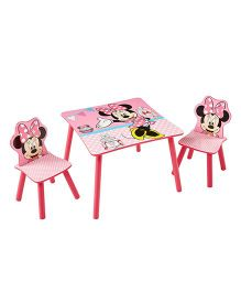 Disney Minnie Mouse Table & Chair Set - Pink