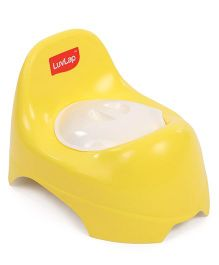 LuvLap Potty Trainer Chair With Lid - Yellow