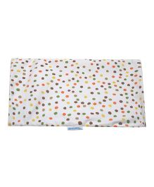 Abracadabra Changing Mat Dot Print - White