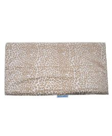 Abracadabra Changing Mat Leopard Print - Light Brown