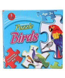 Kumar Toys Birds Jigsaw Puzzle Pack Of 4 - Multi Color