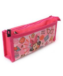 Disney Minnie Mouse Rectangular Pencil Pouch - Pink
