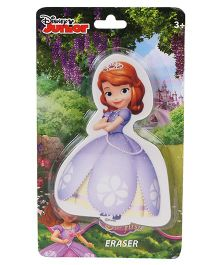 Disney Sofia Die Cut Shaped Eraser - Purple