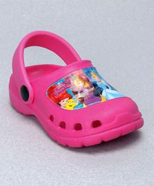 Cute Walk by Babyhug Clogs Disney Princess Design - Pink