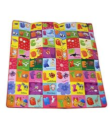 Paramount Anti Skid Double Sided Play Mat Alphabet Print - Multicolour