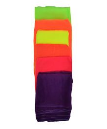 GSI Large Juggling Scarves Pack of 10 - Multicolor