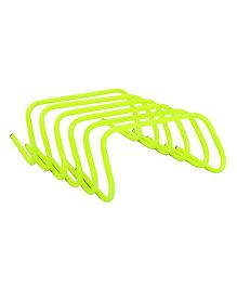 GSI Agility Hurdles Pack of 6 Green - 9 Inches