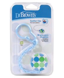 Dr. Browns Soother Holder Clip Polka Dot Print (Color & Print May Vary)
