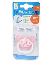 Dr Browns Prevent Butterfly Shield Pacifier - Pink