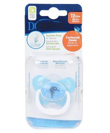 Dr Browns Prevent Printed Butterfly Shield Pacifier - Blue