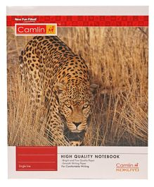 Camlin Small Single Line Notebook - 164 Pages