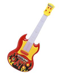 Toyshine Battery Operated Guitar Toy - Red