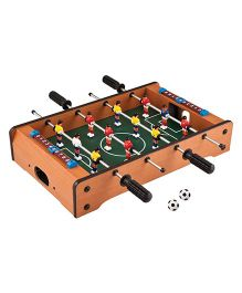 Toyshine Mid-sized Foosball, Mini Football, Table Soccer Game - Lets Have fun!
