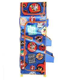Looney Tunes 5 Shelves Folding Wardrobe - Red & Blue