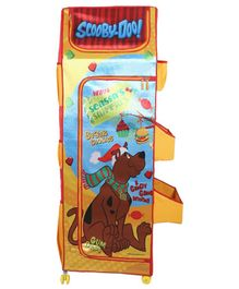 Scooby Doo 4 Shelf Folding Wardrobe - Multicolor