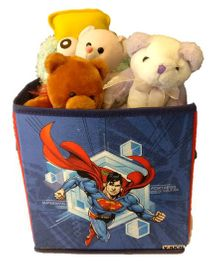 Superman Storage Box Small - Blue