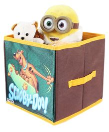 Scooby Doo Storage Box Small - Yellow & Multicolor