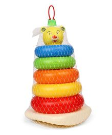 Fair Teddy Stacking Ring Junior - Multicolor