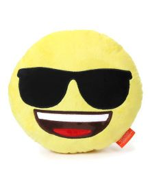 My Baby Excels Emoji Feeling Cool Cushion Yellow - 30 cm