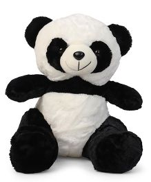 Dimpy Panda Stuffed Animal Toy Black & White - Height 40 cm