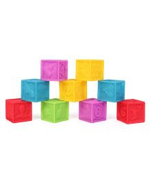 Little Hero Soft Blocks Set Multi Colour - 09 Pieces