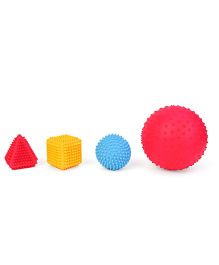 Little Hero Sensory Shapes Set Pack of 4 - Red Yellow Blue