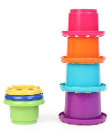 Little Hero Stack N' Nest Cups Multi Colour - 7 Pieces