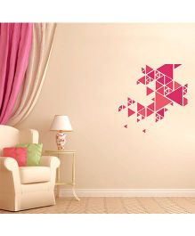 Orka Digital Printed Designer Wall Sticker - Multi Colour