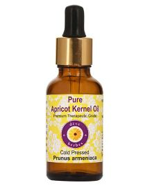 Deve Herbes Pure Apricot Kernel Oil With Dropper - 100 ml