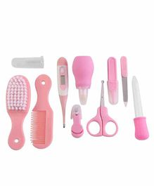 Syga Health Care Grooming Kit 8 Pieces - Pink