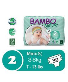 Bambo Nature Diapers Mini - 30 Pieces