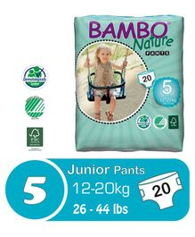 Bambo Nature Diaper Pants Junior - 20 Pieces