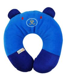 Ole Baby Neck Support Pillow Cat Face Shape - Blue