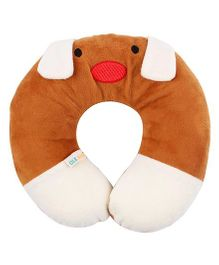 Ole Baby Neck Support Pillow Puppy Face Shape - Brown