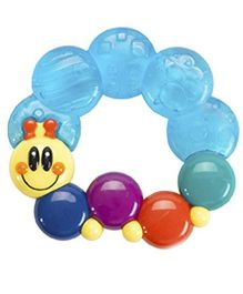 Ole Baby Gel Filled Silicone Teether Toy - Multicolor