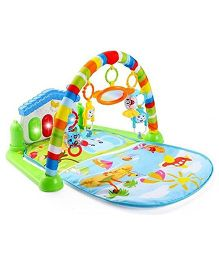 Ole Baby Musical Activity Play Gym Floor Mat - Multi Colour