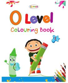0 Level Colouring Book 2 - English