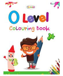 0 Level Colouring Book 3 - English