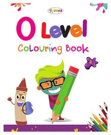 0 Level Colouring Book 4 - English