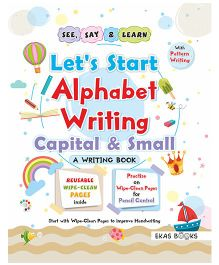 Writing Book Let's Start Alphabet Writing Book - English