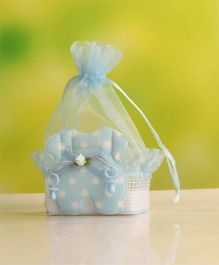 Babies Bloom Candy Bag Party Favor Set of 12 - Blue