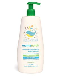mamaearth Deeply Nourishing Body Wash For Babies - 400 ml