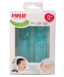 Farlin - Baby Comb And Brush Set